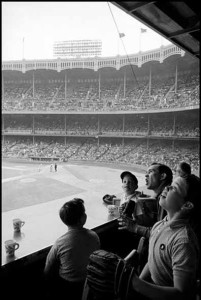 New York City, 1962, Yankee Stadium. Credit Inge Morath/The Inge Morath Foundation — Magnum Photos